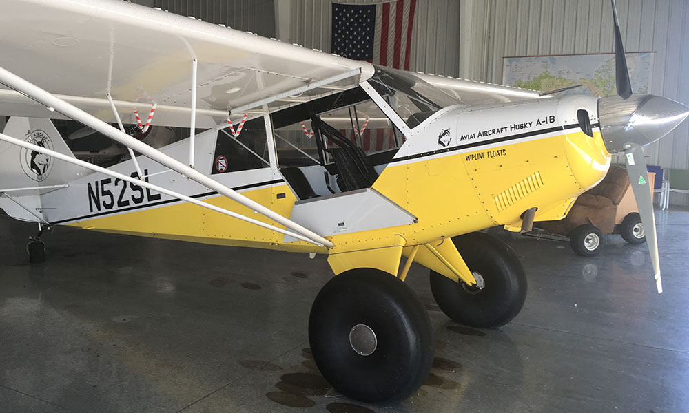 Jerry received his Seaplane Rating in this plane. It was configured differently then of course.